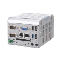 BX-320 - Fanless Embedded PC / DIN Rail Mountable / F&eIT Bus / PCIe Bus / Atom E3845 / DC Power Supply
